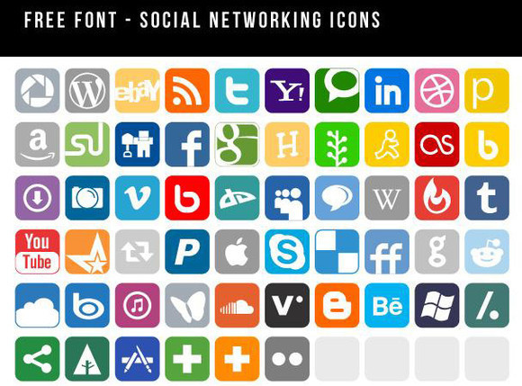Free Social Media Icons  Download SVG EPS amp PNG
