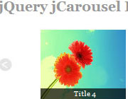 jQuery jCarousel Lite With Pretty Image Captions That Appear On Rollover