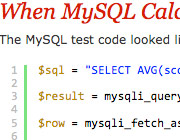 MySQL Has Functions (Part 5) : PHP vs MySQL Performance