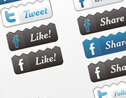 Freebies: Facebook, Twitter & RSS Feed Icons