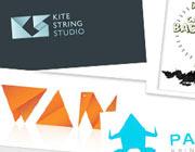 33 Inspirational and Creative Origami Logos
