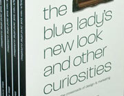 Design Books Giveaway: 3 x 'The Blue Lady's New Look & Other Curiosities' Book