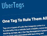 Tag Management Platform - 10 x Free UberTags Subscriptions