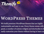 WordPress Themes Giveaway: 5 coupon codes from Themify