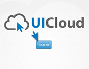 UICloud: Powerful Search Engine for UI Elements and Design Inspiration