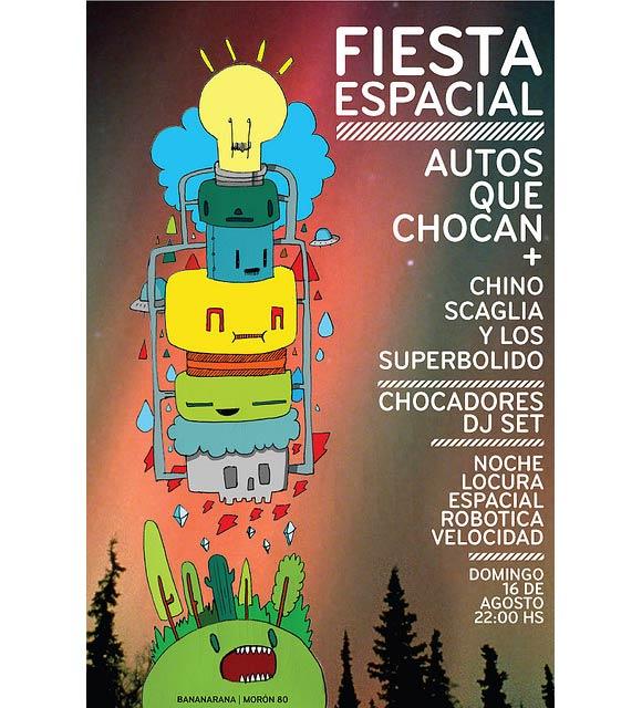 Flyer Fiesta Espacial