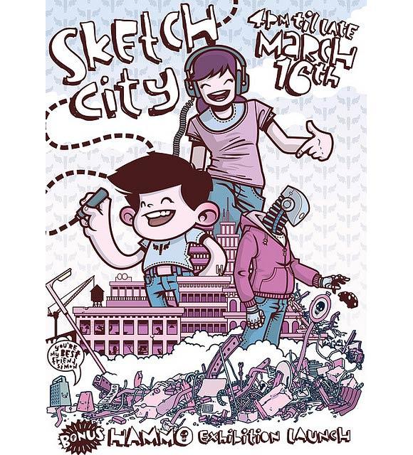 Sketch City Flyer