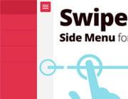Creating a Swipeable Side Menu for the Web