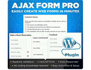 WordPress Plugin: AJAX Form Pro to Create Web Forms in Minutes