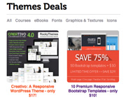Gorgeous Web Templates and Wordpress Themes at a Bargain