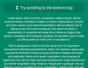 FancyScroll.js: Add an iOS/Android Overflow Scroll Effect