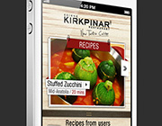 Relieve Hunger – Beautiful Examples of Food-Related Mobile App UIs
