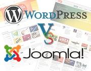 Top 40 Templates for Designers: WP vs. Joomla