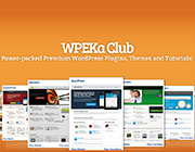 WordPress Themes and Plugins Giveaway: 3 Platinum WPEka Club Plans