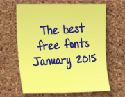 The Best New Free Fonts – January 2015