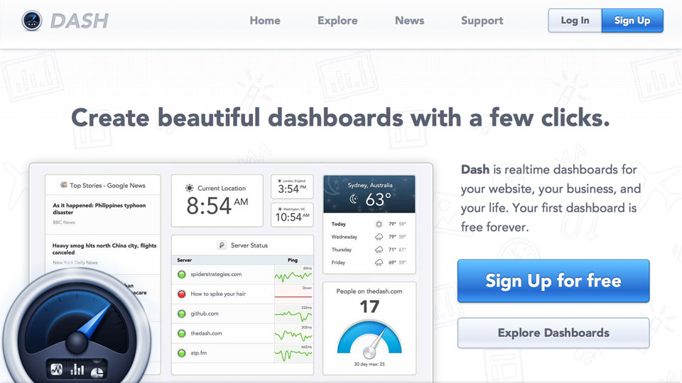 Dashboards: What They're Good For and How to Build One