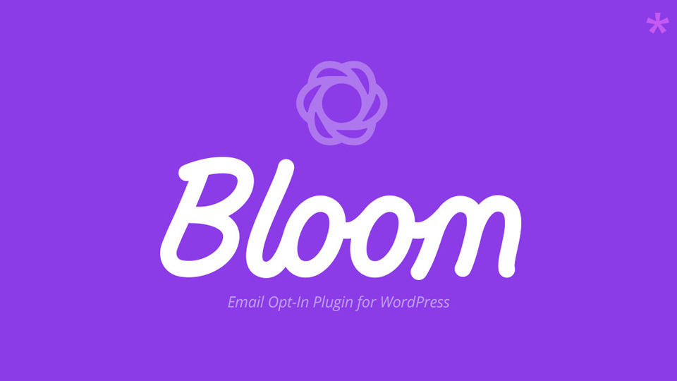 Bloom From Elegant Themes – The Opt-in Plugin to Grow Your Email List
