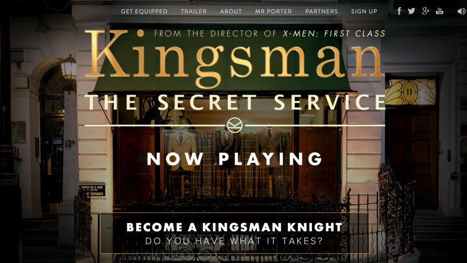 Official Movie Website Design - Promotional Sites of Recent Movies