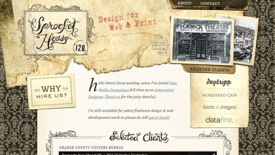 Vintage is Back in Trend: Best Retro Website Designs