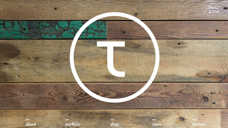 Create an Atmosphere: Website Design Based on Wooden Textures