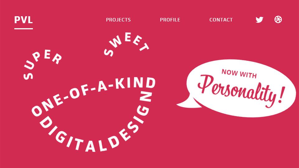 Unique & Creative Text-Focused Websites