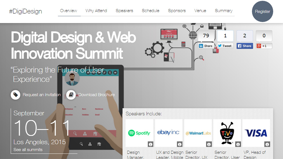 Are you Going to the Digital Design & Web Innovation Summit?