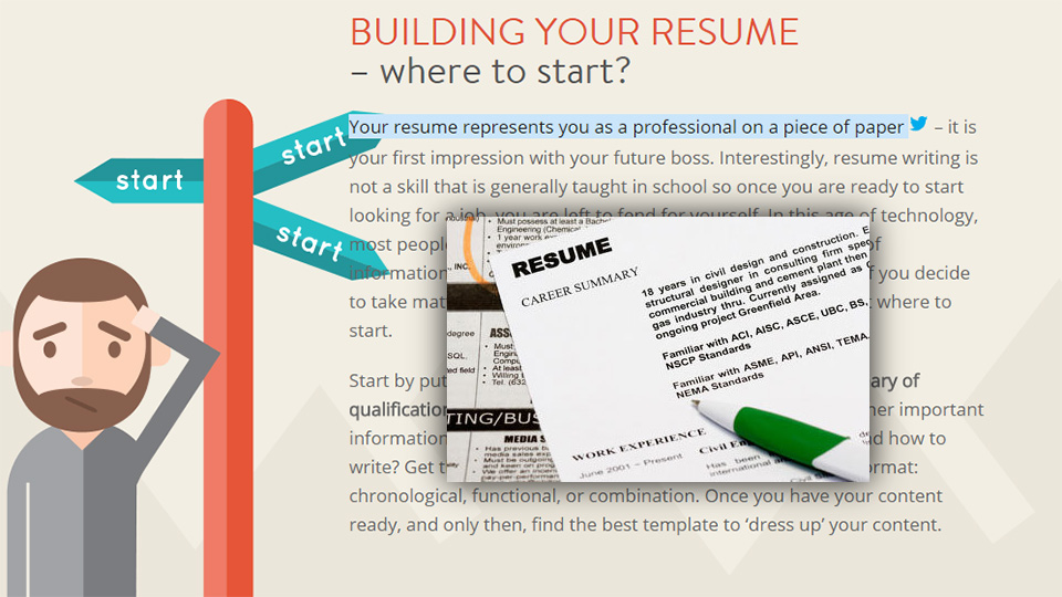 Boost The Power Of Your Resume By Developing A Creative Online Presence