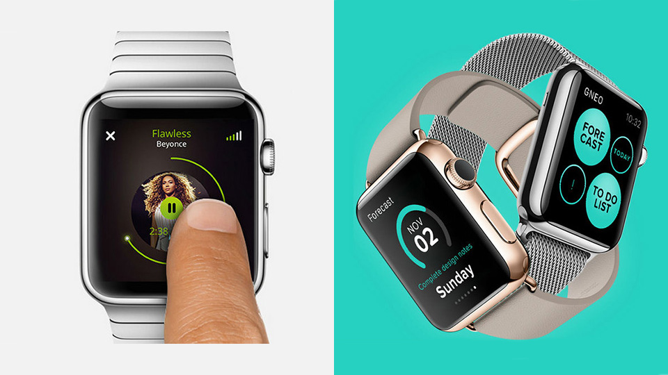 Size is Not An Obstacle: Marvelous Uis for Smart Watches