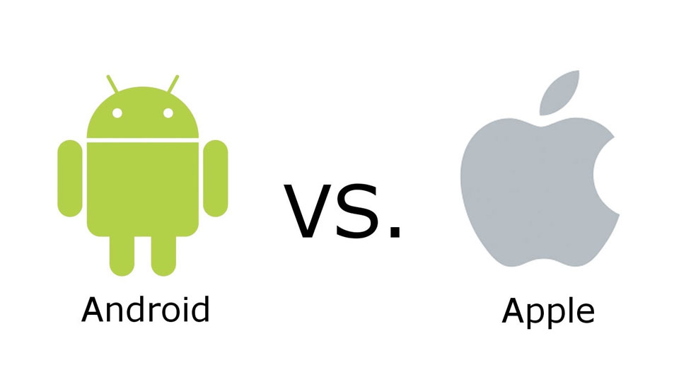 Image result for Apple iOS vs Android