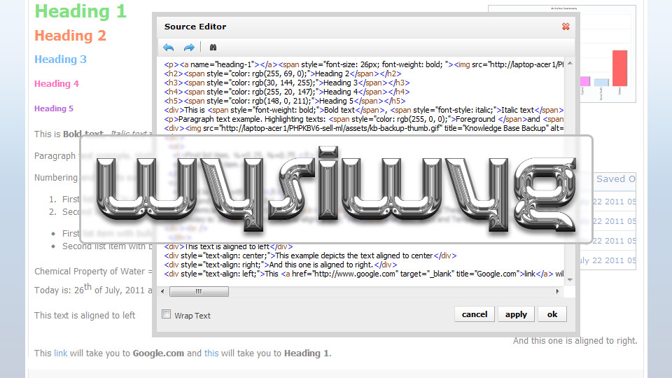What You Pay Is What You Get: The Future of WYSIWYG Editors