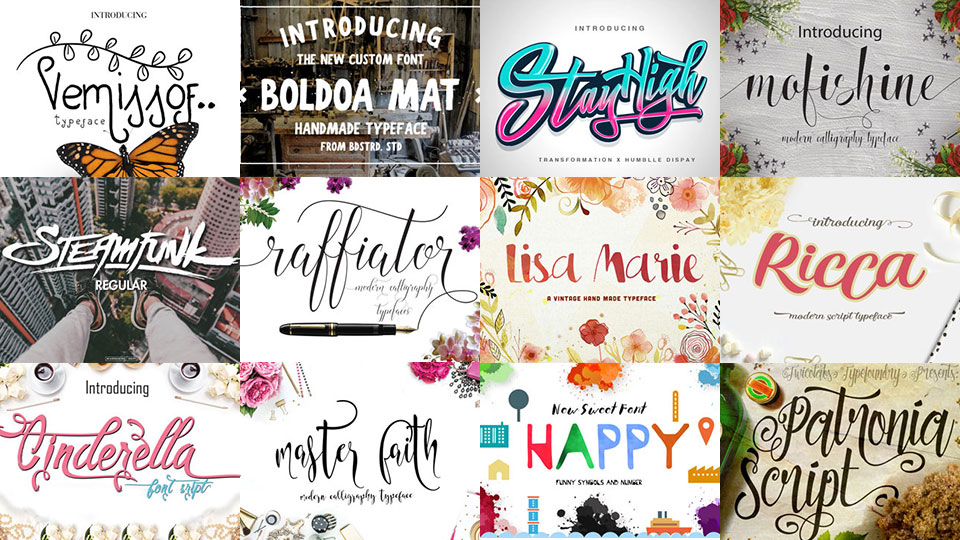 The Crafters Revolution Font Bundle: A Must Have Selection of High Quality Fonts