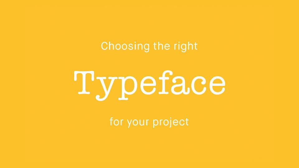 Which Would You Choose - If You Could Just Use Eight Typefaces?
