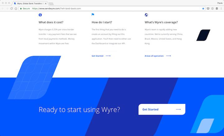 Wyre app