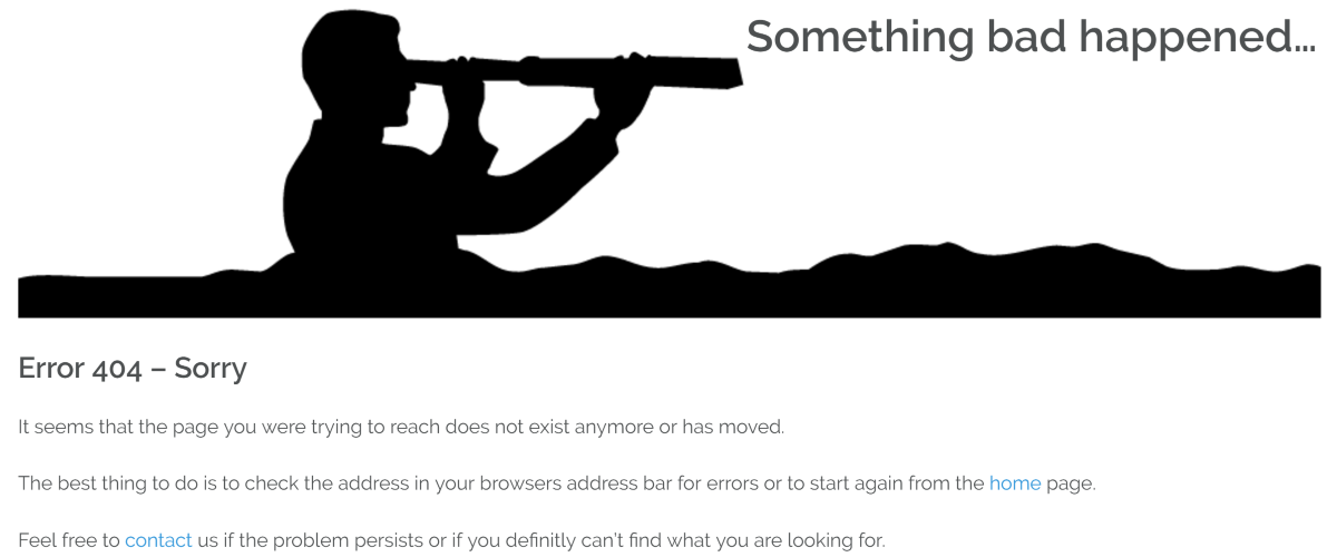404Page plugin