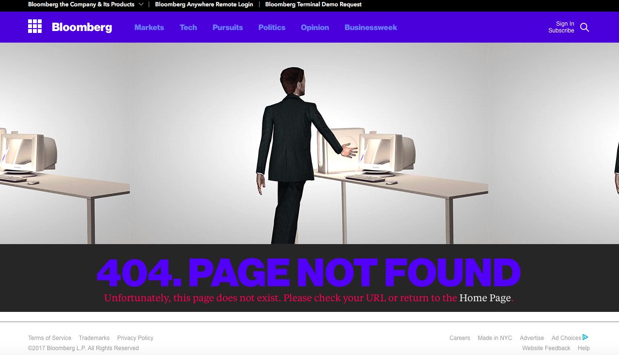 Bloomberg 404