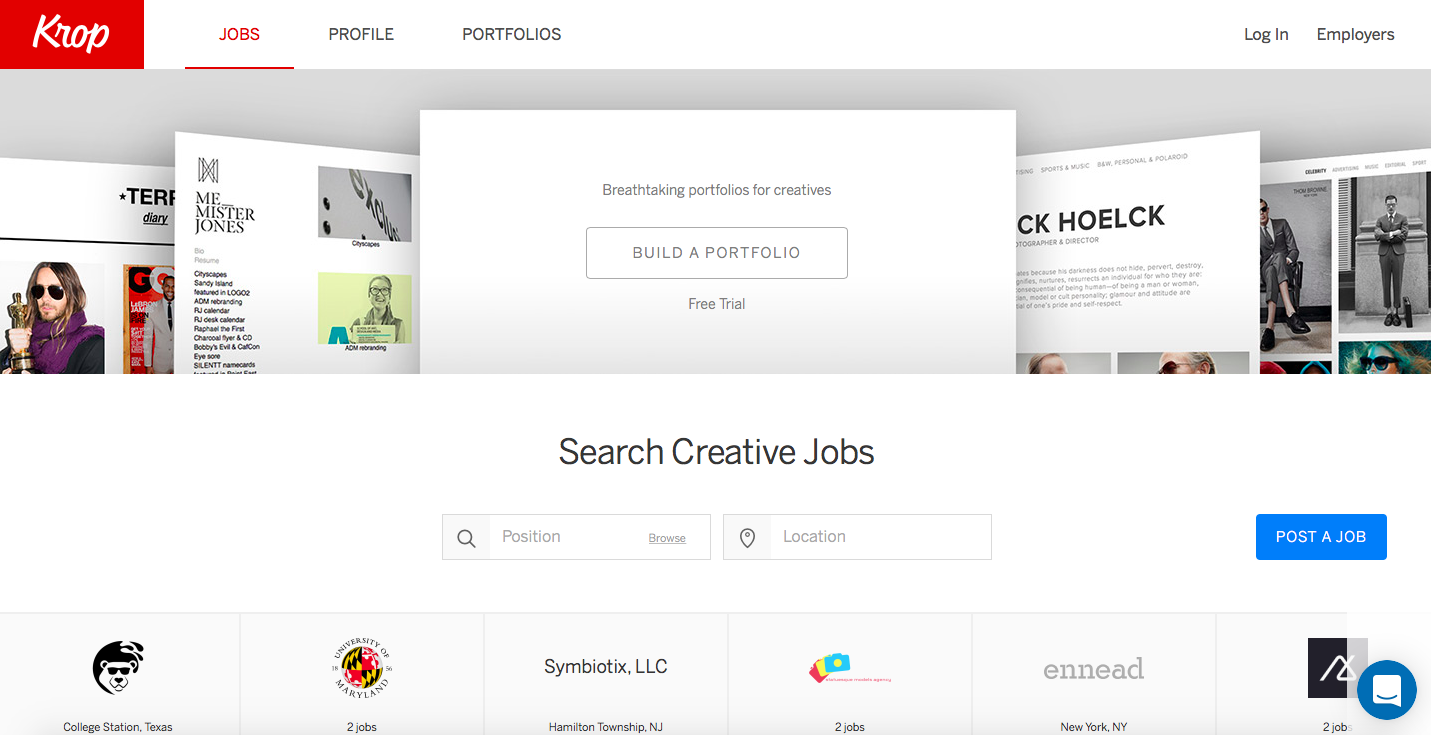 the advantages of creating a portfolio online How would you like to display your work try out the themes below they'll determine your site layout and gallery.