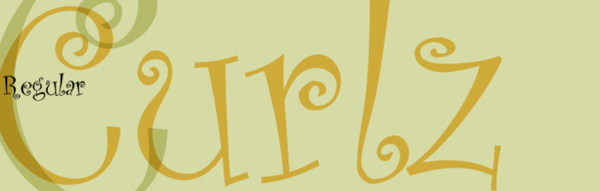 Decorative Typefaces - Curlz