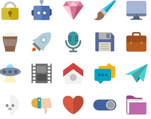 Flat Design - Icon Set