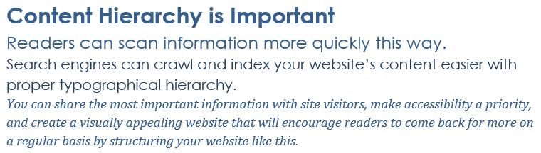Web排版 - 内容层次结构