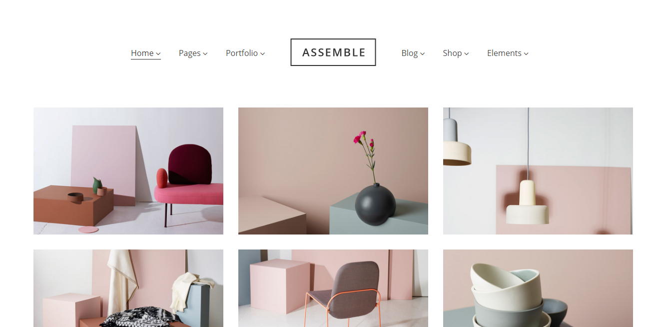 Assemble WP theme