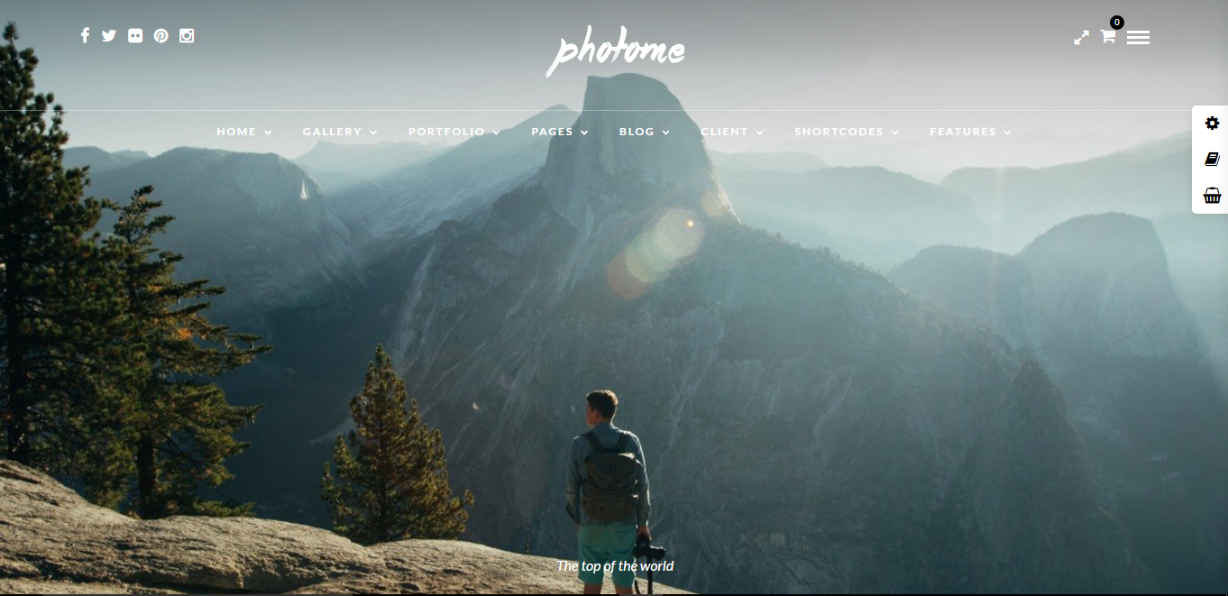 Photome WP theme
