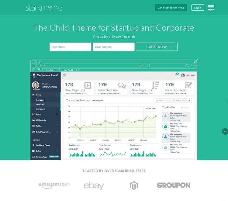 12 Best Divi Child Themes For Landing Page, Business, And