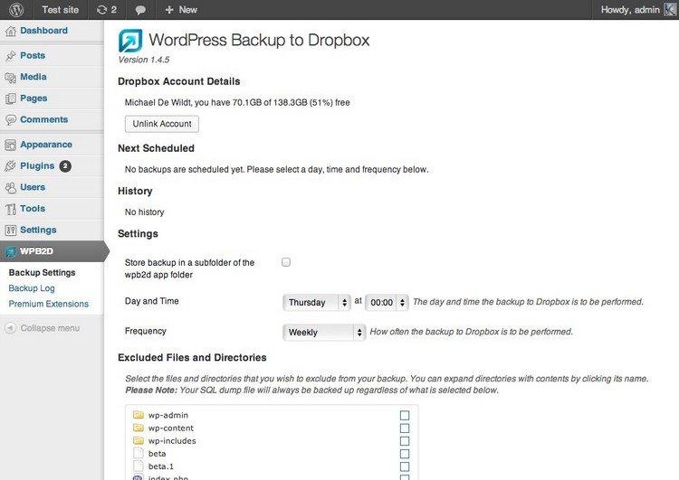 6 Best (Free and Premium) WordPress Backup Plugins Of 2018 - 웹