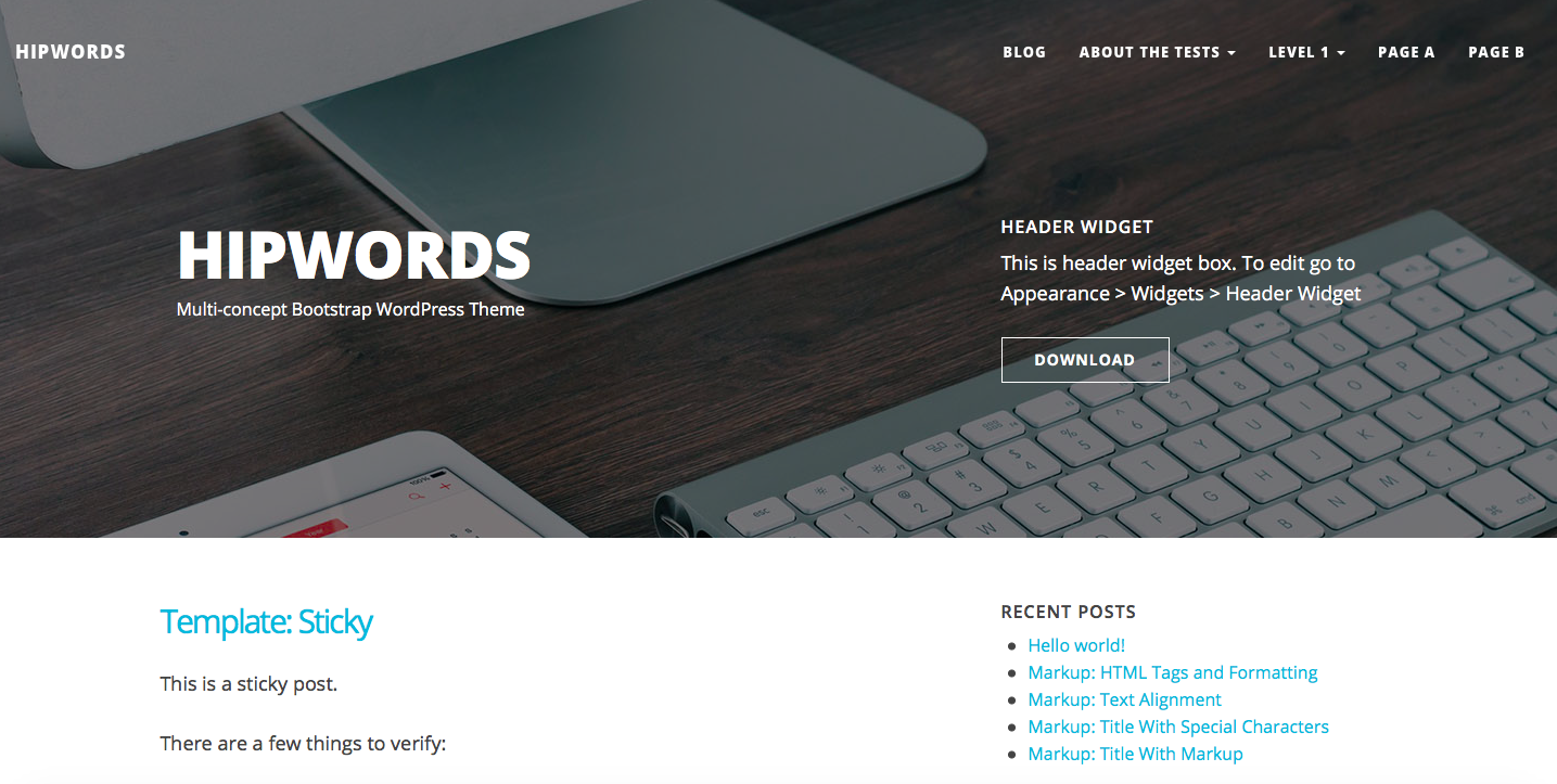 30 Free WordPress Themes for Personal Bloggers - Onextrapixel