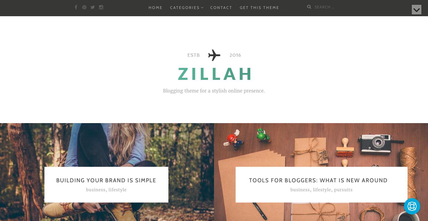 Zillah theme