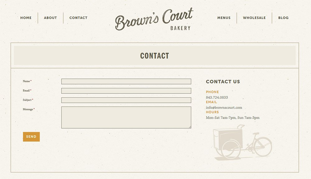 browns court contact form