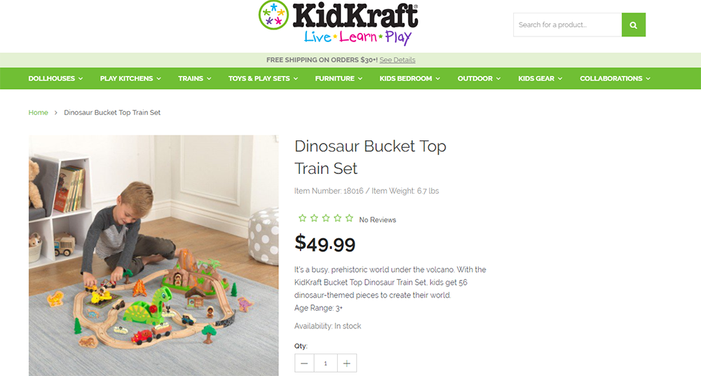 kidkraft product pricing
