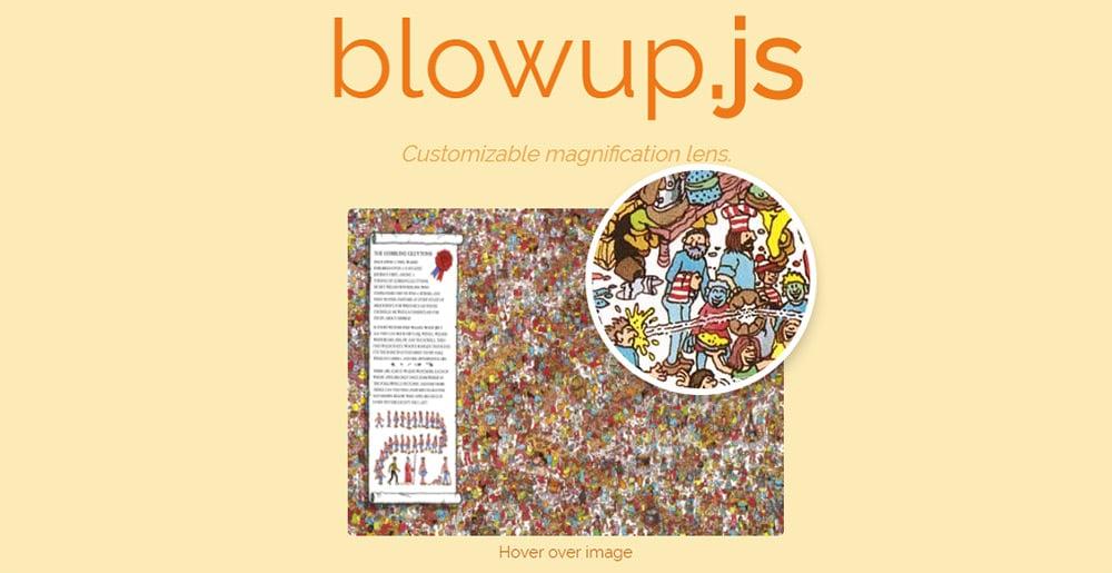 blowup js script