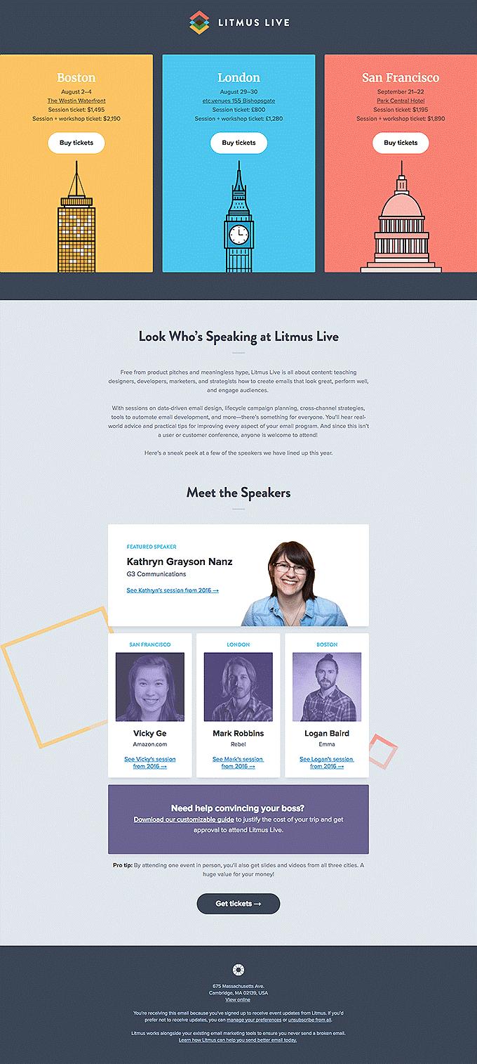 Litmus Live Email