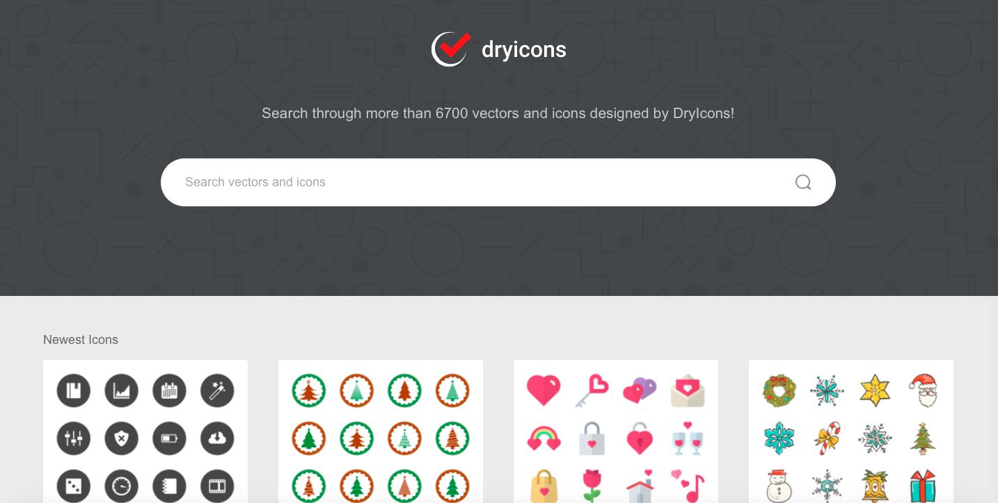 Dry Icons